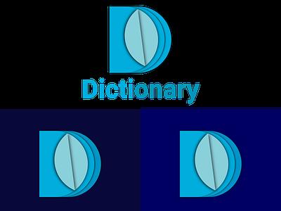 Dictionary-D letter logo 2021 adobe illustrator ai file vector design logo designs illustrator graphics design classic logo standard logo gradient logo trending logo new logo trend new logo popular logo logo designer logo design letter logo d letter logo
