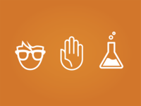 Nerd Science Icons