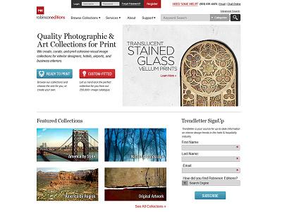 RE Homepage homepage business ui website