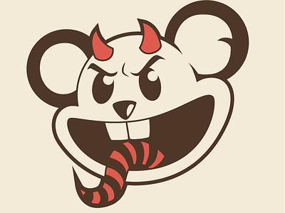 Fair game tattoo devil illustration