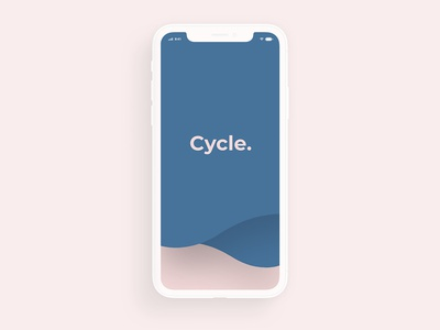 Cycle APP Design application userinterfacedesign app uxui ux design uxdesign user experience userinterface ui design colors logo brand direction art design graphic typography ux ui