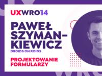 UX WRO 14 — concept