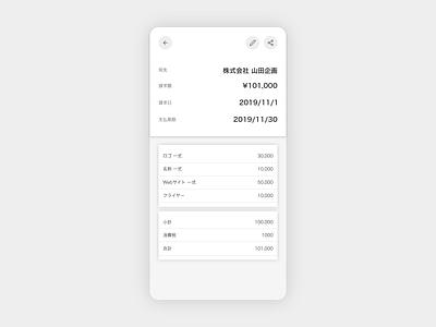 Invoice dailyui 046 daiyui