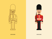 Character Design - British Guard