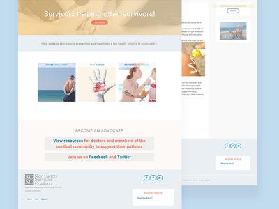 SCSC website homepage wordpress genesis responsive