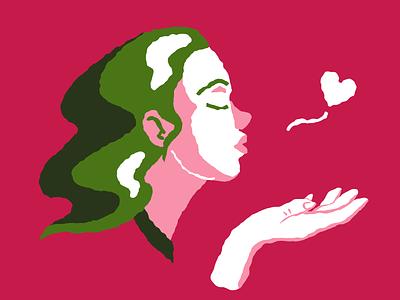 Kiss kiss icons8 vector art illustration digital art