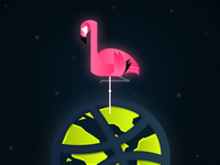 Landed on planet Dribbble!