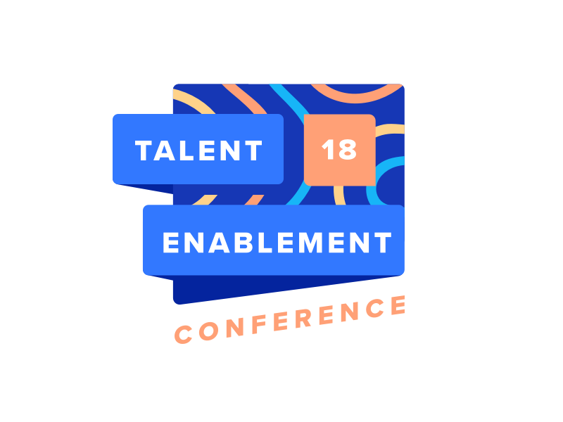 Talent Enablement Conference branding logo conference talent hr intuo