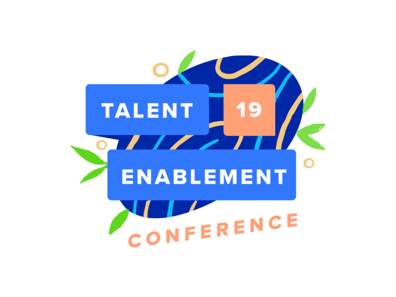 Talent Enablement Conference '19 intuo hr conference branding