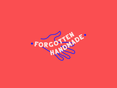 Forgotten Handmade logo option