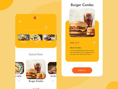 Foodie color food delivery ecommerce food and drink ui  ux mobile app mobile design mobile ui food logo food app