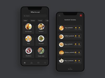 Recipe #Dailyui dark ui rating food recipe dailyui branding flat ux paviart web app ui website illustration design