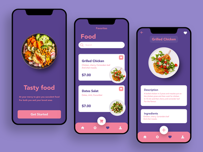 Favorites #Dailyui favorite health tasty food dailyui branding flat ux paviart web ui app website illustration design