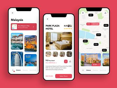 Hotel booking #Dailyui function party flat ux branding paviart web app ui website illustration design
