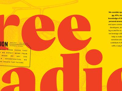 Free Radical: Hi-Contrast