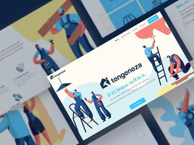 Tengeneza Website Landing Page