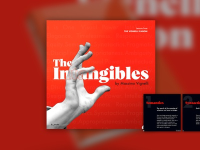 The Intangibles: M. Vignelli