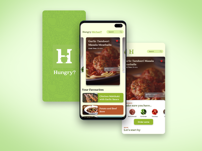 Hungry? App Design