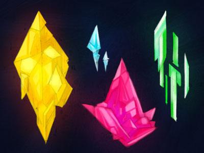 Gems Concept Art