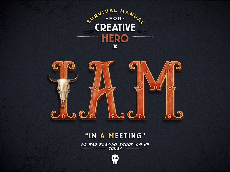 Acronym Guide / IAM meeting west wood iam marketing opinion quotes lettering art lettering font acronym typography graphic  design illustration business