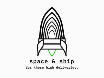 Space & Ship (logo)