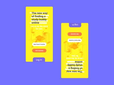 Study buddy app design