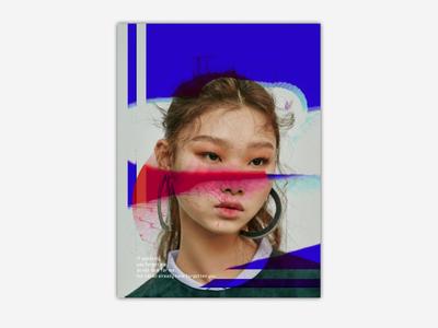 Random poster design