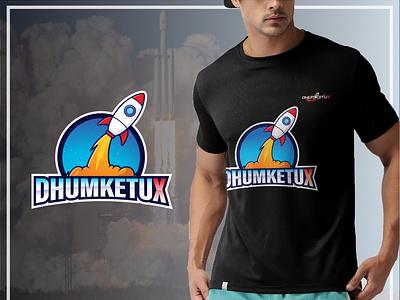 Logo & tshirt design tshirtdesign space shuttle branding space program rocket launch space logo black tshirt