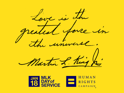HRC_MLK-DoS-01 branding art direction typography