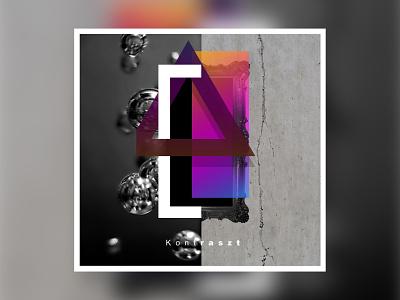 Contrast gradient concept clean art minimal geometric digitalart digital art design cover illustraion graphic design