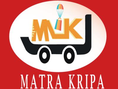 Matra kripa logo illustration design branding logo