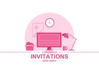 Dribbble Invations