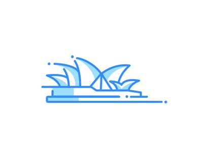 Sydney icon sydney