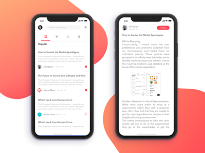 Dribbble 100day002 x iphone ios11 project note 100day