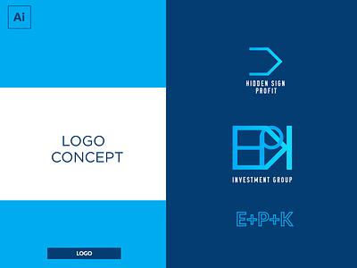 Letter Logo ui finance profit symbol professional modern 3d branding clean colour concept creative design identuty illustrator identity simple vector sketch logo