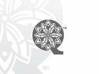 Floral Q Mark