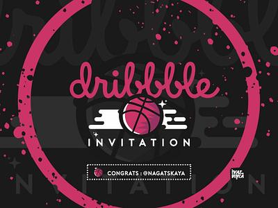 Dribbble Invites Drafted dribbbleinvites dribbbleinvitation dribbbleinvite invitation invites invite mark vector