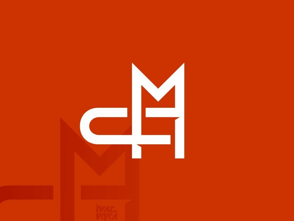 MC or CM Monogram cm mc monogram logo monogram identity brand logomark branding brandmark logogram logo icon symbol mark vector