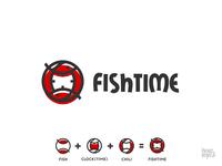 Fishtime Logo Concept