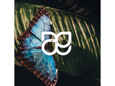 AE Butterfly Monogram Preview