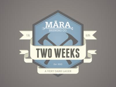 Mara Beer Label