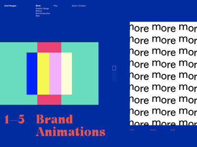 Homepage concept navigation theme colorful colourful web branding typography website ui