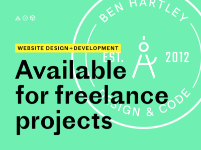 Available for freelance projects freelance graphic ui ux branding development design