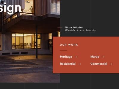 Architecture categories architecture portfolio work website ux ui showcase gallery