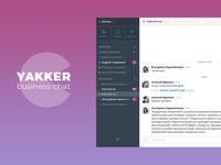 Yakker business chat