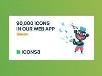 Icons8 Web App