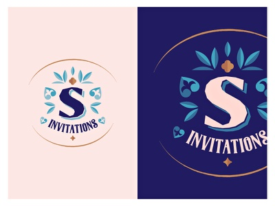 Sintra 'S' emblem invitations logo wedding invitations sintra