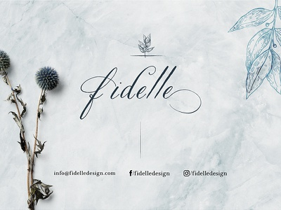 Fidelle branding typography jewelry logo jewelry jewelry design