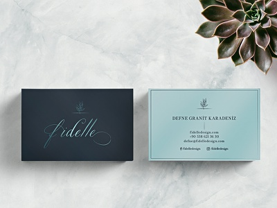 Fidelle Business Card jewelry business card jewelry branding jewelry fidelle