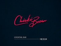 Chicki Boom logo design